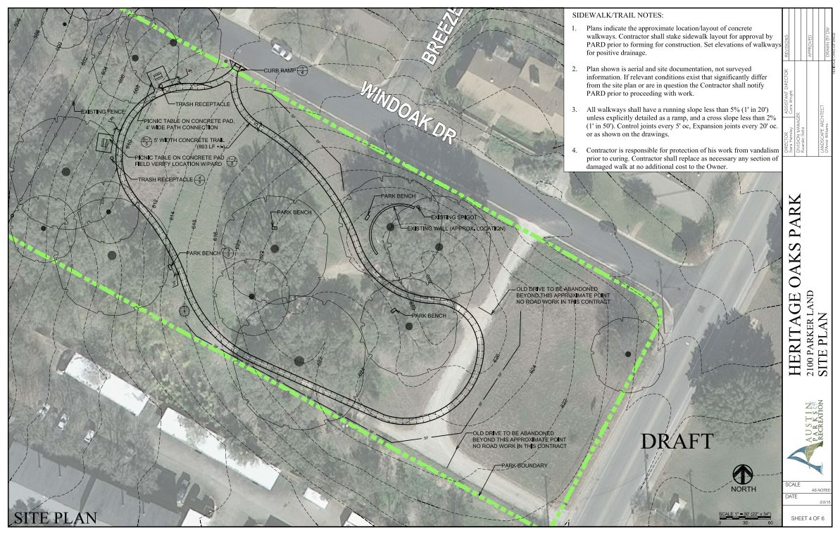HOP Site Plan